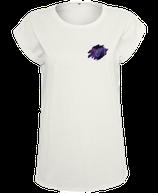 Damen Steinbock Shirt Weiß