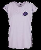 Damen Jungfrau Shirt Flieder