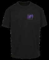 Herren Jungfrau Shirt Schwarz
