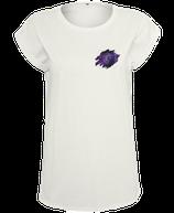Damen Jungfrau Shirt Weiß