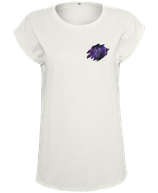 Damen Stier Shirt Weiß