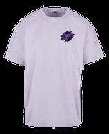 Herren Steinbock Shirt Flieder