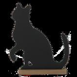 "Kreidetafel ""Katze"" von Clayre & Eef"