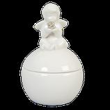 Keramikdose mit Engel von Clayre & Eef