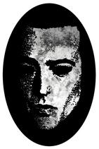 "Saviour Machine - Sticker ""Mask"""