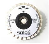 SOLOX® Polish Filz-Fächerscheibe FL150 Ø 150 x 20 mm