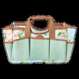 Gartengerätetasche mit Rosendruck