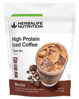 High Protein Iced Coffe