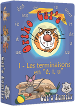Ortho Cat's 1 - les terminaisons en é, i, u