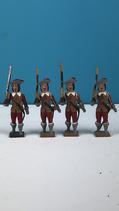 CBG MIGNOT ANCIEN GROUPE DE 4 MOUSQUETAIRES