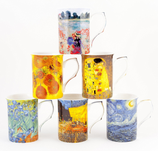 Heritage Artist Collection Set of 6 Mugs