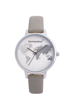 Blumenkind Armbanduhr Hollywood 07031985SWHPGR stahl/grau