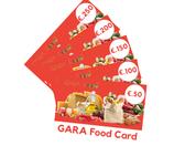 GARA Food Card