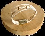 Bracelet marin écru