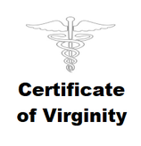 CERTIFICATE OF VIRGINITY