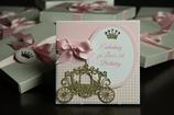 Einladungskarte Taufe Prinzessin Princess