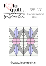 Ivy Quiltbock PPP-papieren versie