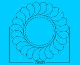 Veren krans 7 inch breed