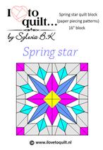 Spring star PPP (papieren versie)