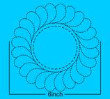 Veren krans 6 inch breed