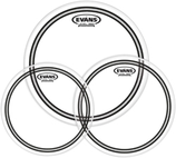 """Evans Drumheads in sizes 8"""" to 13"""""""