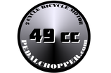 49CC DECALS -  3'inch Diameter
