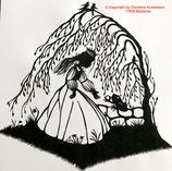 Art.Nr.: 9012W535 Wandbild Froschkönig