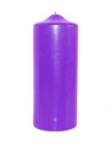Adventskranz-Kerzen lila