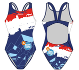 Only junior size - women's swimsuit Swim to fight cancer 5e editie