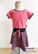 Zwierjurkje Nina/ Cheeta roze