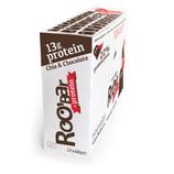 Roobar Box - Chia&Chocolate Protein Riegel (12x60g) [Bio]