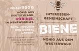 Robinie 2017 im IG-Biene Glas