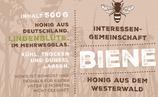 Lindenblüte 2018 im IG-Biene Glas