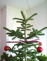 Flying Christmas Tree - Metal