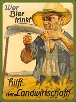 Wer Bier trinkt Bauer