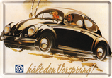 VW Käfer hält den Vorsprung