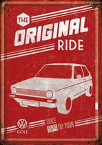VW Golf eins rot