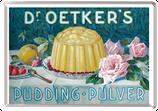 Dr. Oetkers Pudding grün