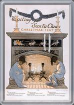 Weihnachten Kinder Kamin