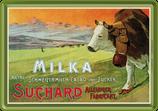 Milka Kuh auf der Alm