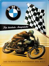 BMW Zielflagge für hohe Ansprüche