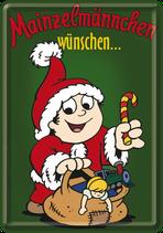 Weihnachtsmann Mainzelmännchen
