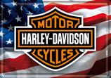 Harley Davidson Flagge