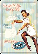 Krankenschwester Unterwäsche