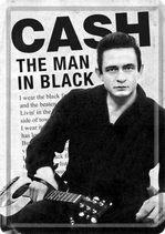Jonny Cash Man in Black