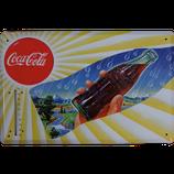 Coke gelbe Streifen