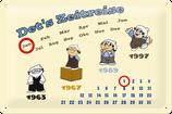 Mainzlmännchen Zeitreise Kalender