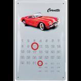 Corvette rot Kalender