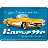 Corvette gelb