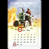 MAN Ackerdiesel Kalender